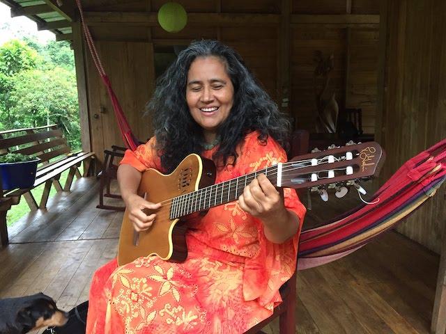 Guadalupe Musikstar in Costa Rica