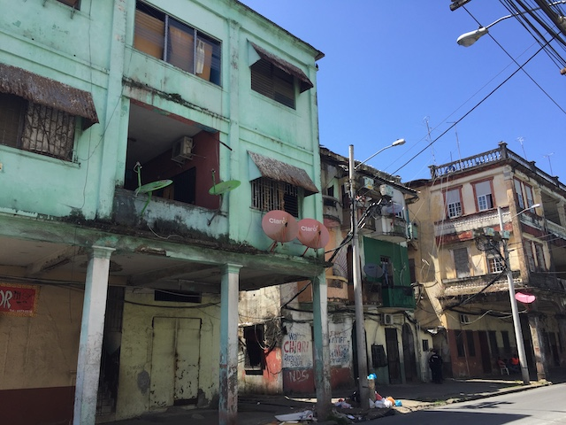 Arme Stadt in Panama