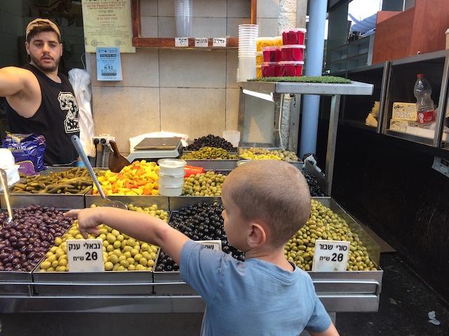 Auf dem Markt Mahane Yehuda