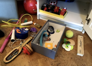 Ausmisten im Kinderzimmer